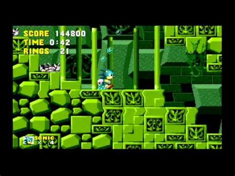 Lets Play Sonic The Hedgehog part 4: I HATE UNDERWATER ...