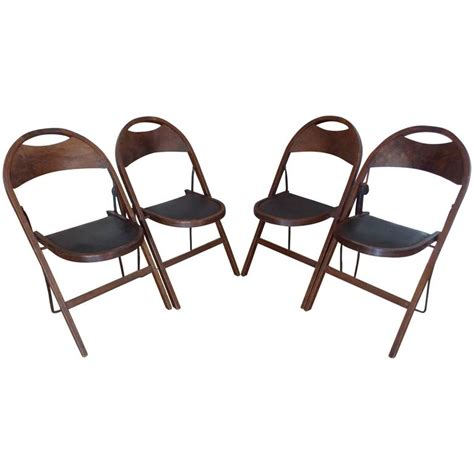 Stakmore Folding Chairs 1926 by Americana Wood Folding Chairs Stakmore 1925 At 1stdibs
