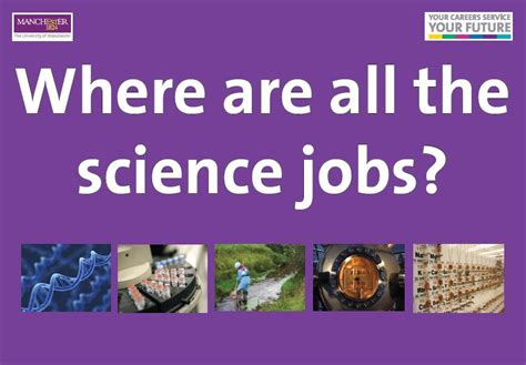 Science Careers by Where Are All The Science Of Manchester