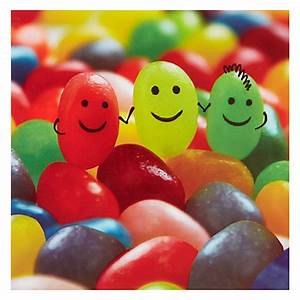 I am Blog.: Jelly Beans Vs. Lima Beans
