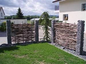 Garten Sichtschutz Holz : garten sichtschutz metall kunstrasen garten ~ Sanjose-hotels-ca.com Haus und Dekorationen