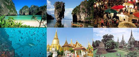 daftar  tempat wisata    thailand
