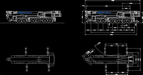 crane demag ac  dwg plan  autocad designs cad