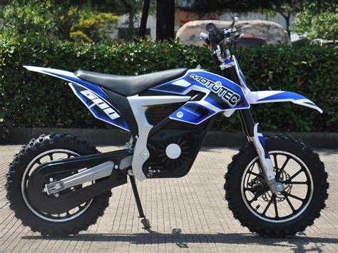 500w Electric Kids Size 49x22x32 Dirt Bike Scooter 24in