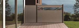 Bois Composite Cloture : ocewood cl ture en bois composite boreale design brise ~ Edinachiropracticcenter.com Idées de Décoration