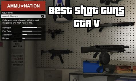 The Top Gta V Best Shotgun Weapons For Online  Newb Gaming