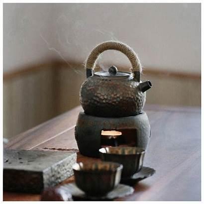 Ceramic Tea Stove Japanese Teapot Pot Handmade