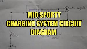 Mio Sporty Charging System Circuit Diagram