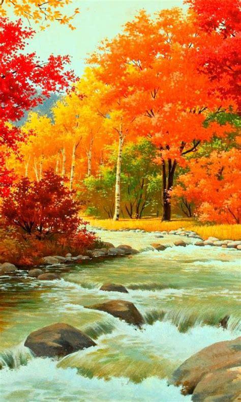 autumn portrait pemandangan hd wallpapers android layar alam wow terbaru trend apk paling populer gambar dp