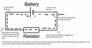 How Does Resistor Exactly Reduce Current Flow In Circuit