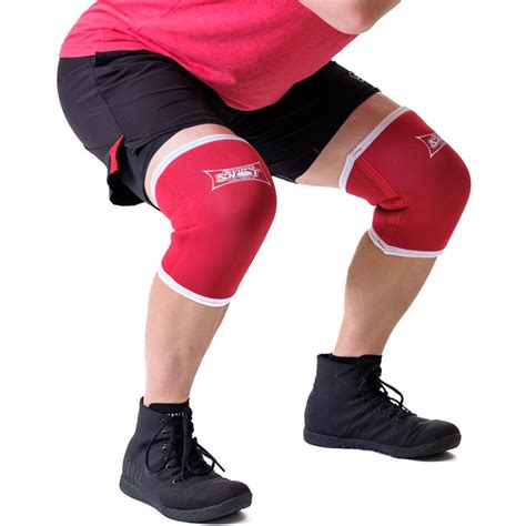 Sling Shot Knee Sleeves 20 By Mark Bell Red