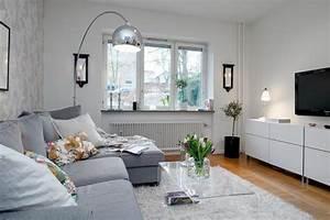 Graues Sofa Kombinieren : 140 bilder einzimmerwohnung einrichten ~ Michelbontemps.com Haus und Dekorationen