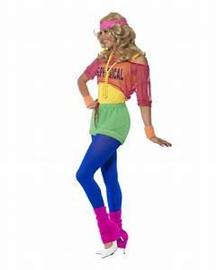 80er Jahre Kostüm Damen : 80er jahre aerobic kost m achtziger jahre partyoutfit karneval universe ~ Frokenaadalensverden.com Haus und Dekorationen