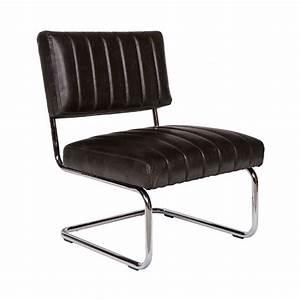 Fauteuil Simili Cuir : fauteuil vintage simili cuir norton par drawer ~ Teatrodelosmanantiales.com Idées de Décoration