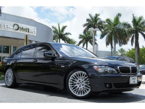 Sell Used 2007 Bmw 750li,bmw Certified Pre Owned,sport