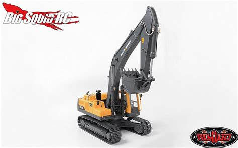 rcwd earth digger  hydraulic excavator rtr big squid rc rc car  truck news reviews