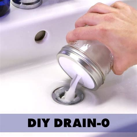 unclog drains  scary chemicals nifty hacks