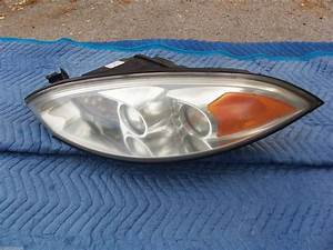 2001 2002 Mercury Cougar Left Headlight Used Oem Orig Ford