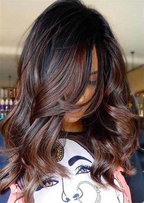 delicate spring hair color  brunettes balayage
