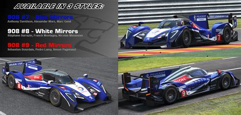 Peugeot Lmp1 2019 by Rwd P30 Lmp1 Custom Paints Here No Chat Page 2