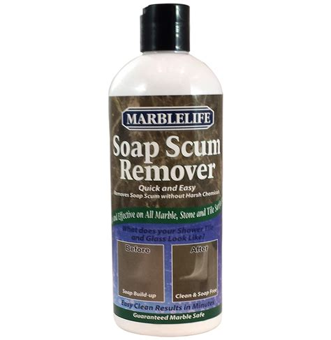 soap scum remover shower cleaningmarblelife products