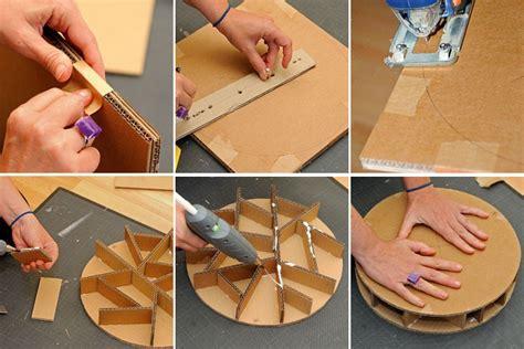 comment fabriquer  pouf en carton bricobistro