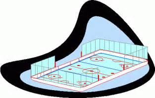 Ice Hockey Rink Clip Art