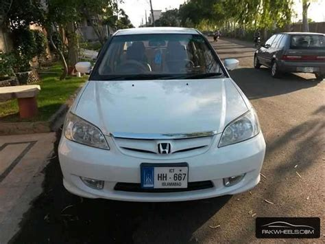used honda civic exi 2005 car for sale in lahore 872631 pakwheels
