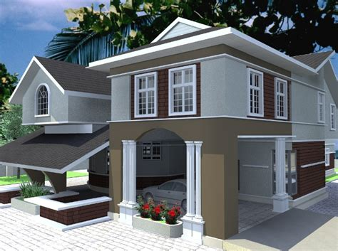 Nigerian House Design Best Designs Plans Houses  Home