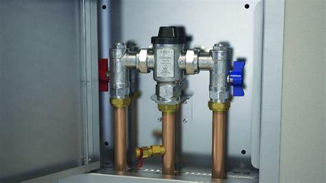 caromas  tmv plumbing connection