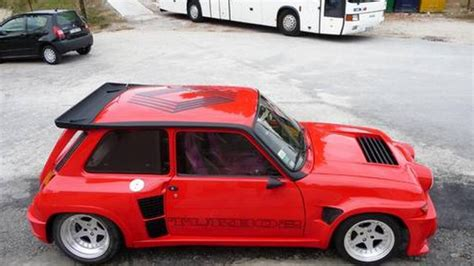 renault 5 turbo classified ad of the week renault 5 turbo 2 top gear