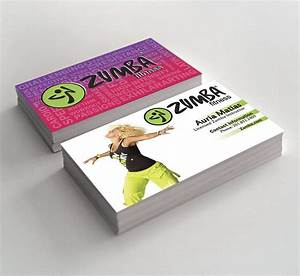 Zumba business cards by ljackson391 on deviantart for Zumba instructor business cards