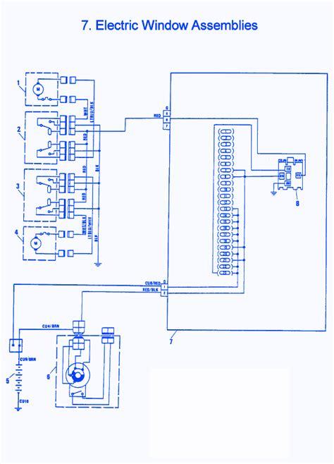 Electric Window Wiring Diagram by Fiat X1 9 1986 Electric Window Electrical Circuit Wiring