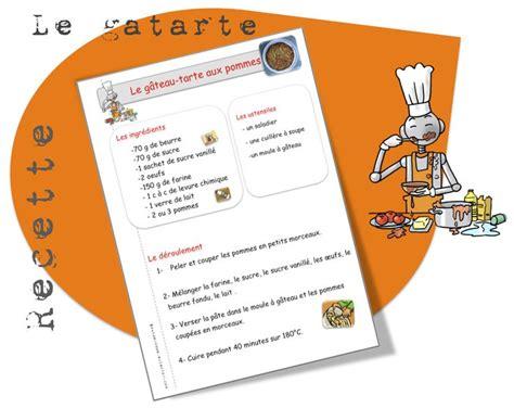 2 recette de cuisine 1000 images about recettes de cuisine pour la classe on