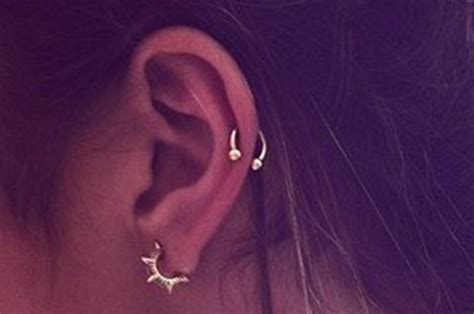 adventurous ear piercings    summer