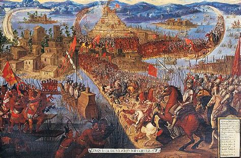 The Fall Of Tenochtitlan  Truly The End Of The Aztec