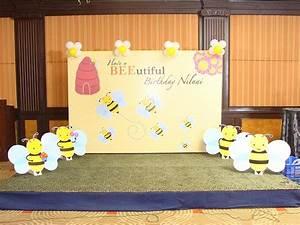 Bumble Bee theme Backdrop - Untumble com