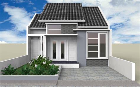 contoh desain rumah minimalis type  bergaya modern