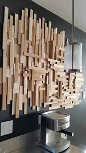 Diy Deco Murale : un diy de d co murale en bois pour moins de 20 woods ~ Dode.kayakingforconservation.com Idées de Décoration