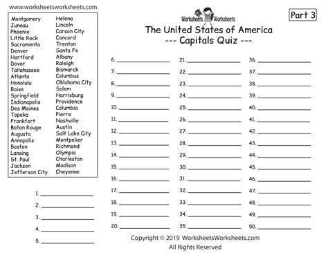 homeschool geography worksheet worksheets worksheets