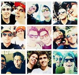 Collage de Mangel y Ruben :3 | Youtubers Españoles