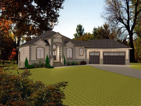 house  angled garage ranch  angled garage house bungalows designs treesranchcom