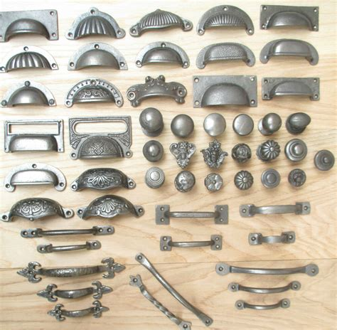 Cupboard Fittings by Vintage Retro Style Rustic Cast Iron Kitchen Cupboard