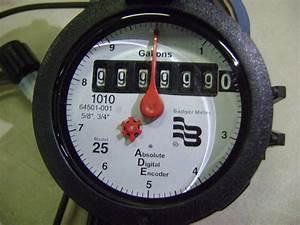 New Badger Water Meter 25 Absolute Digital Encoder 1010