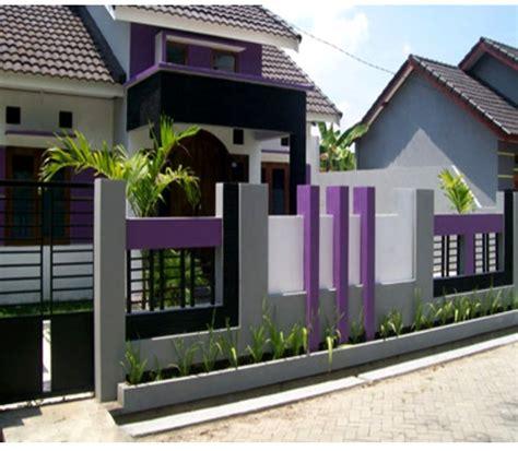 Merk Cat Tembok Pagar Luar warna cat tembok pagar luar rumah minimalis terbaru