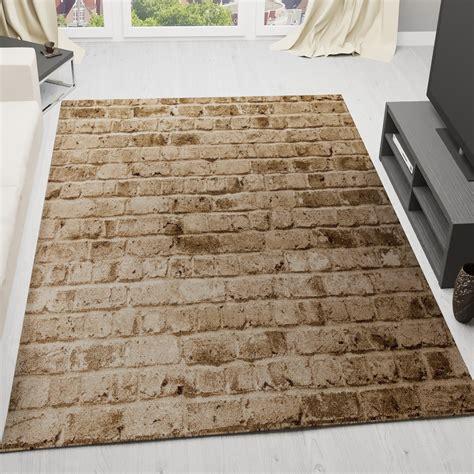 teppich stein moderner designer teppich stein optik mauer muster