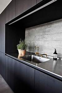 25 concrete kitchen backsplashes with pros and cons digsdigs