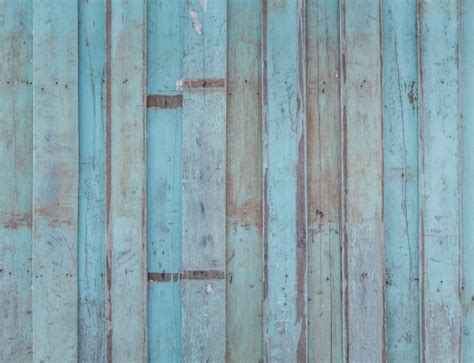 spoiled blue wood wall photo