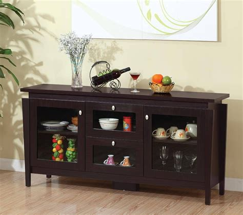 photo  glass sideboards  dining room
