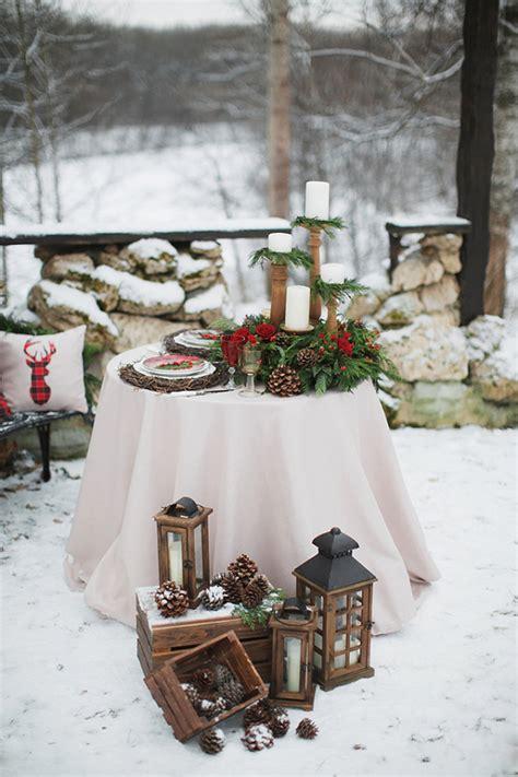 Traditional Christmas Wedding Inspiration Aisle Society